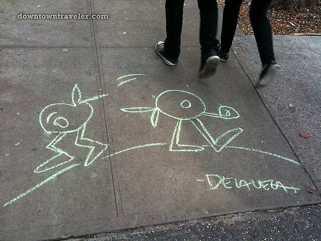 De la Vega chalk art in East Village_9
