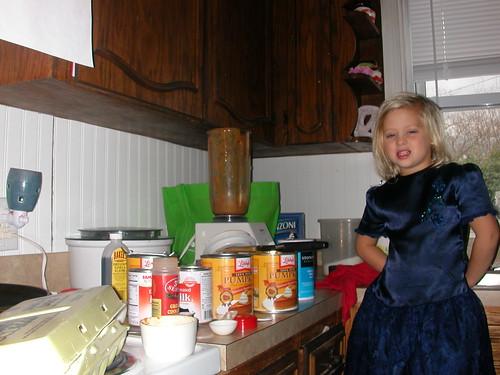 Nov 23 2011 Shanna, making pie