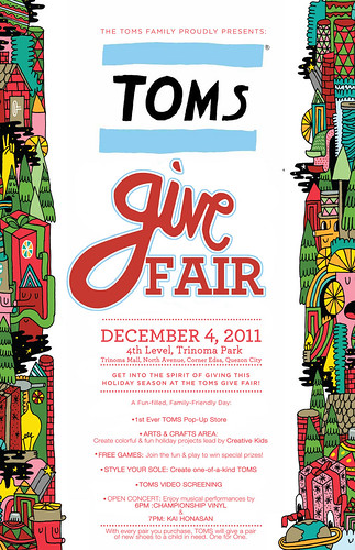 TOMS Give Fair TriNoma December 4, 2011
