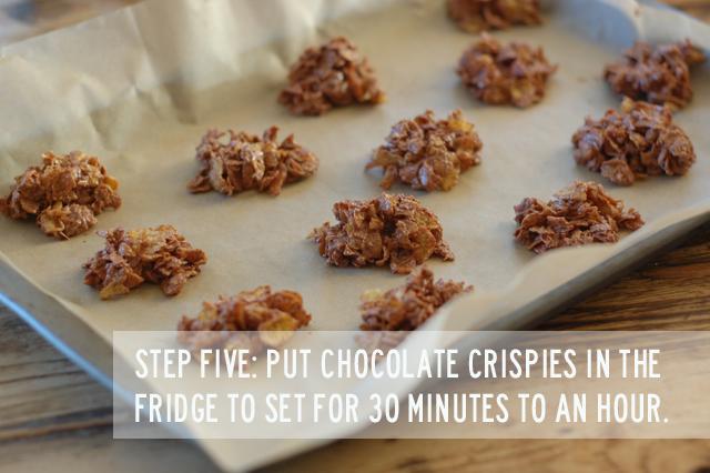 chocolate crispies