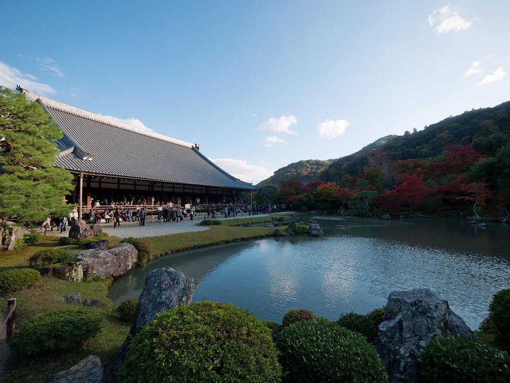 天龍寺 Tenryuji Temple