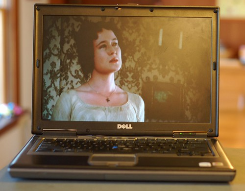 Elizabeth Bennet just after Mr. Darcy's first (rather insulting) proposal by Eve Fox, Garden of Eating blog, copyright 2011