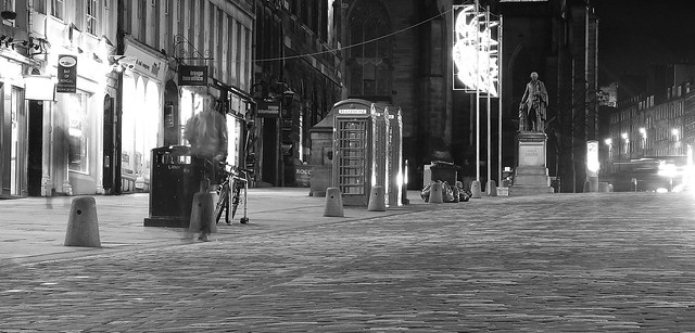 December Night, Royal Mile