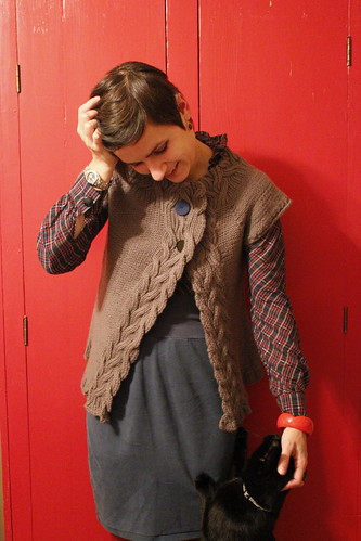 20111201. day 1: rosamund's cardigan.