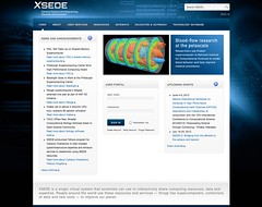 Pic of the day - Extreme Science and Engineering Discovery Environment (XSEDE)