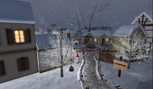 Christmas Village at Swayland
