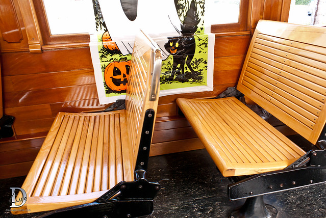 Pacific Electric Railway / Red Car Trolley - Benches
