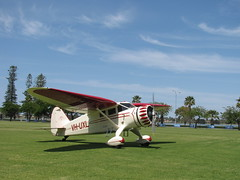 VH-UXL Stinson at Langley Park October 2011