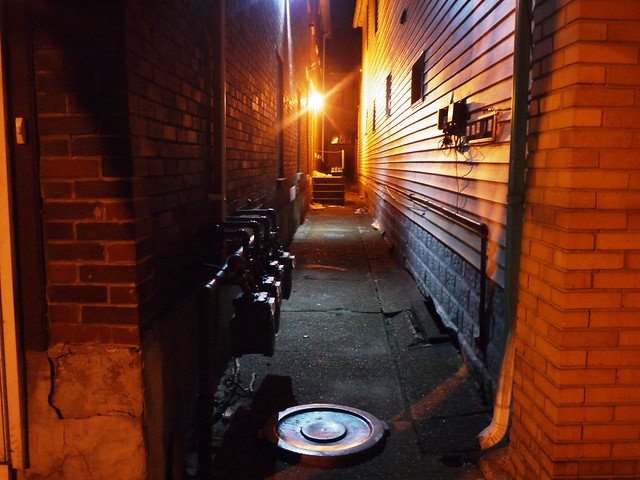 meet you in the alley