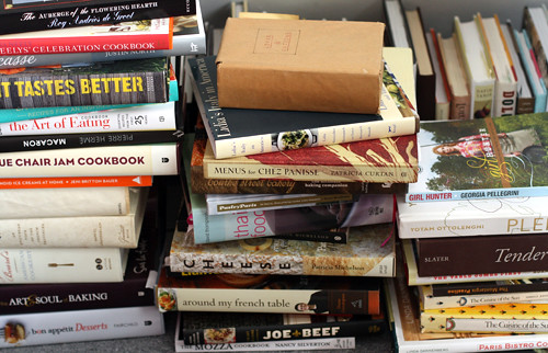 cookbook pile up