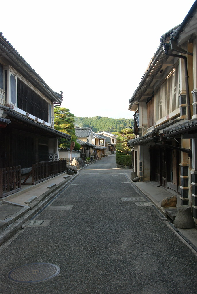 Yokaichi, Uchiko's traditional area