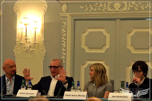 The Establishing Shot: Hugo Press Conference - Sir Ben Kingsley, Martin Scorsese, Chloë Grace Moretz and Asa Butterfield by Craig Grobler