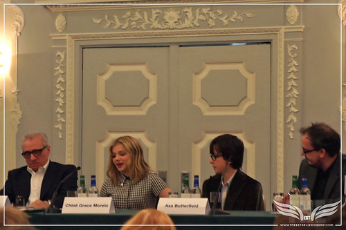 The Establishing Shot: Hugo Press Conference - Martin Scorsese, Chloë Grace Moretz and Asa Butterfield by Craig Grobler