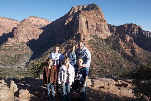 Family at Kolob Canyon by tmac97slc