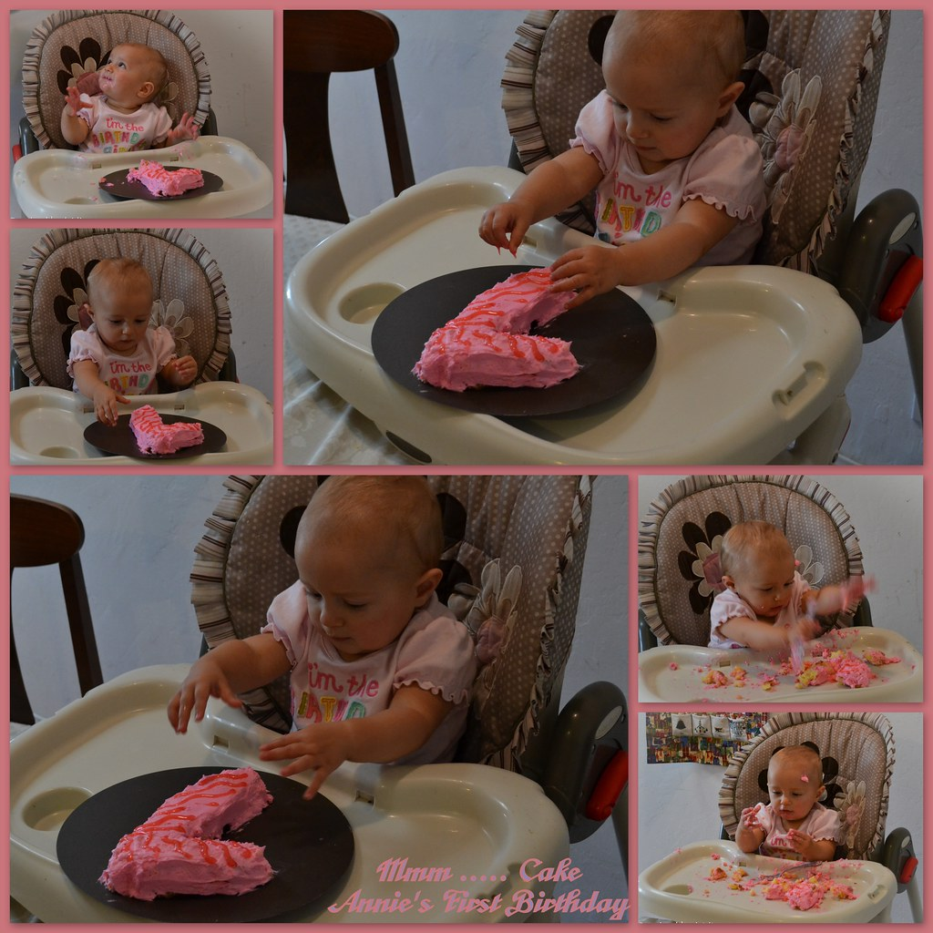 2011-12-03 Annie First Birthday