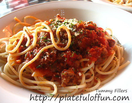 O' Railey's Cafe Pasta Bolognese