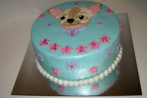 Chihuahua Cake by Cake Maniac