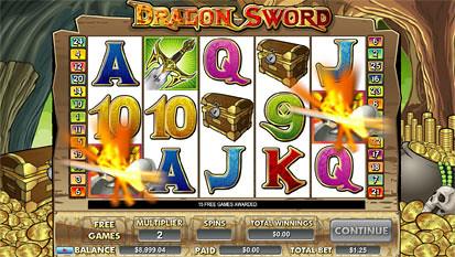 Dragon Sword free spins