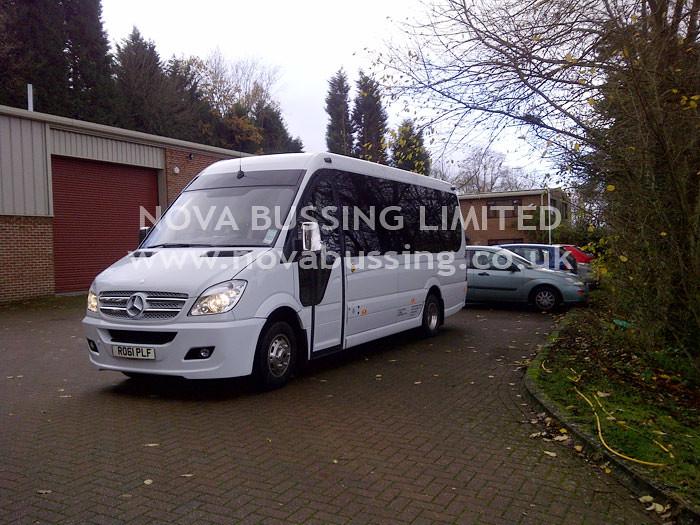 61 Plate Luxury Minibus
