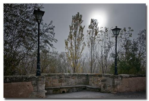 Mañana de niebla by Andrés Ñíguez