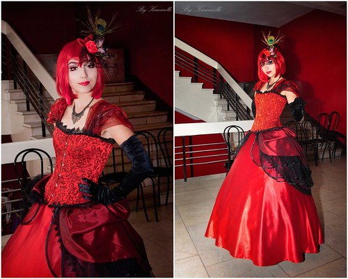 Black butler Madam Red Cosplay