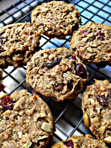Not-so-nutty fruitcake cookies