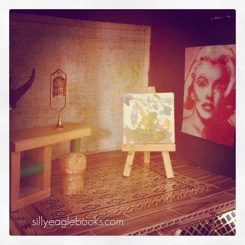 dollhouse art studio
