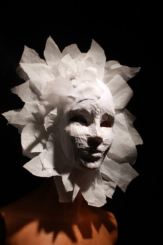Paper mask by ReidOriginals on and off