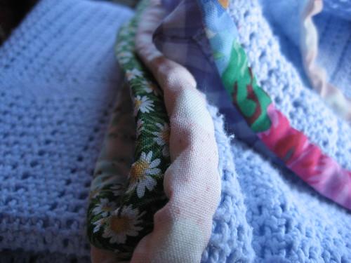Bias trimmed blankets