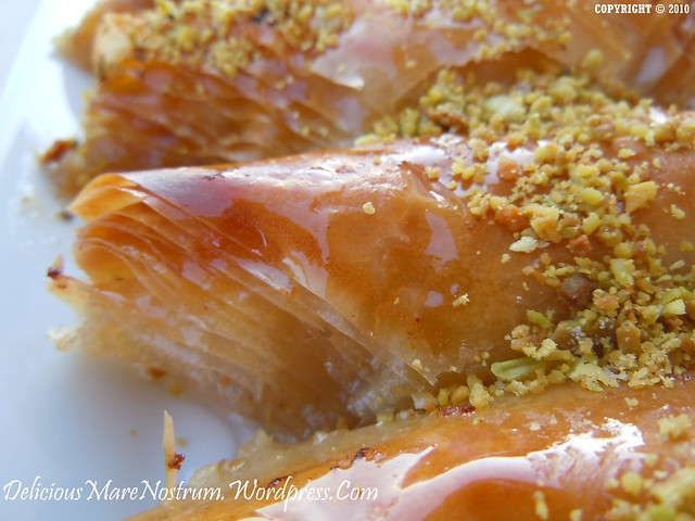 in es lemon semolina custard in phyllo recipes dishmaps lemon semolina ...