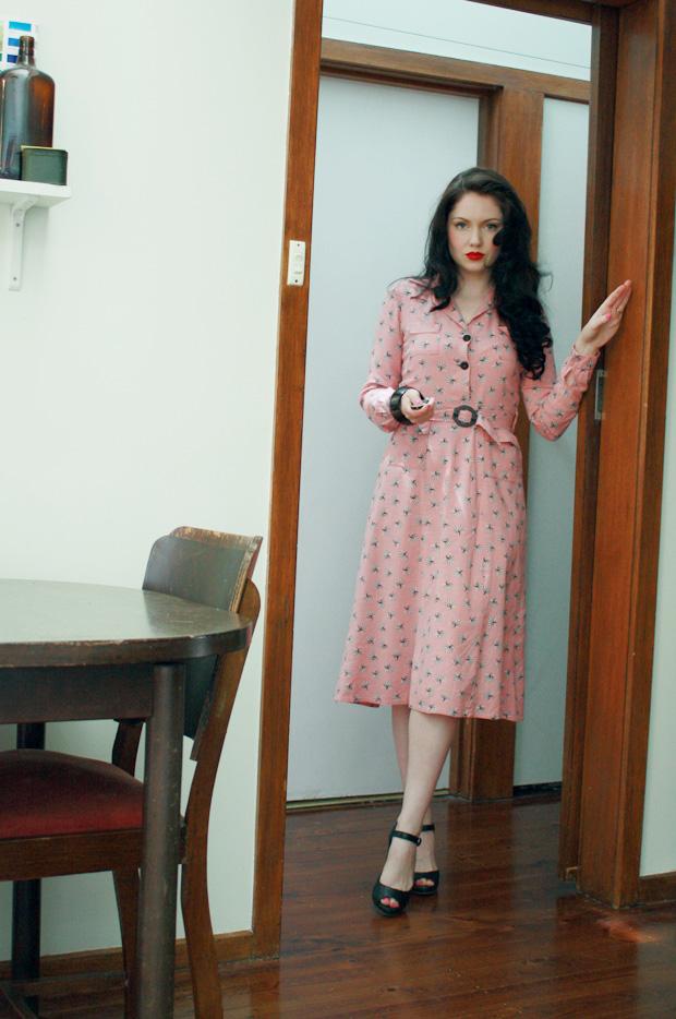 1930s shell dress h