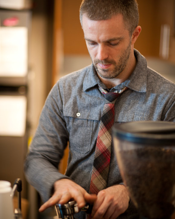 World Barista Champion and Handsome Coffee Roasters proprietor, Michael Phillips