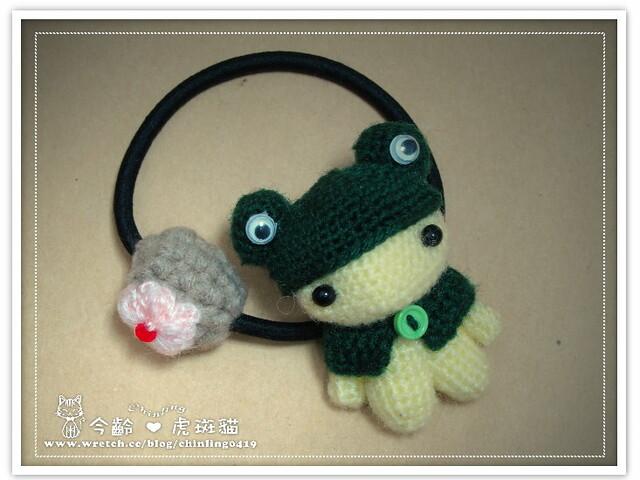 青蛙裝Q娃.髮飾