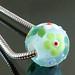 Charm bead : Lemon leaf