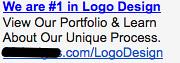 Logo Design - Ad #2