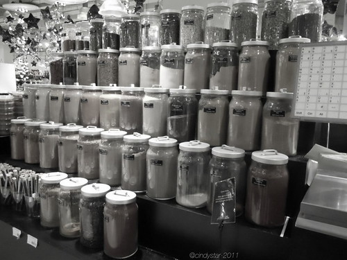 spice jars @ la grande épicerie-paris