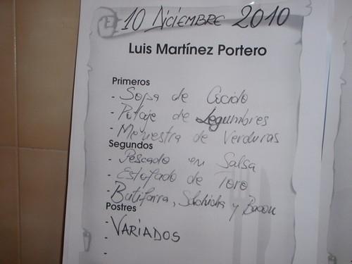 Zaragoza | Cafetería Facultad Económicas | Menú