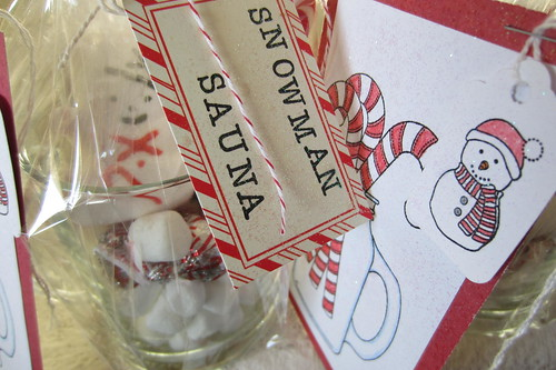 Snowman Sauna Tutorial