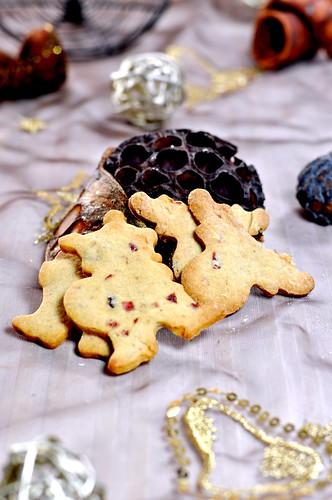 Xmas Cookies 2011 - Cranberry Spekulatius