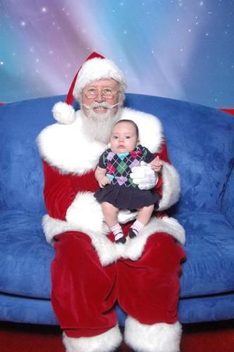 Em's first Santa visit