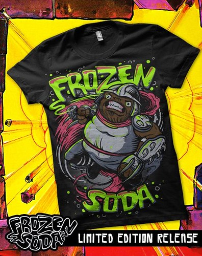 "FROZEN SODA 'LIMITED EDITION' :: ""Uncle Shredder"" tee { 26 of 50 } i (( 2011 ))"