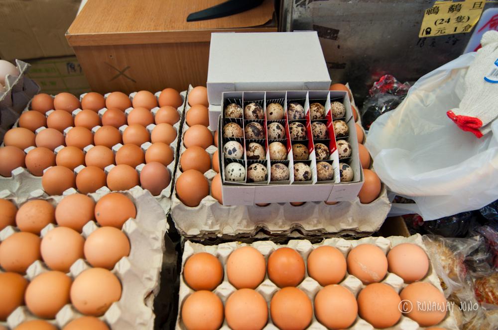 Eggs at Shau Kei Wan Market