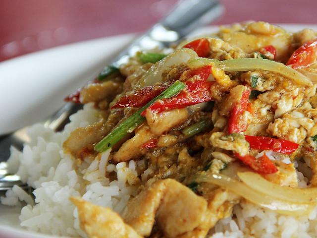 Thai Chicken Yellow Curry Photos