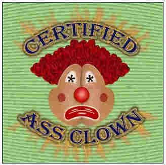 asss clown