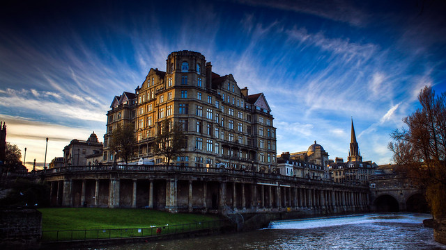 0259 - England, Bath, Empire Hotel HDR