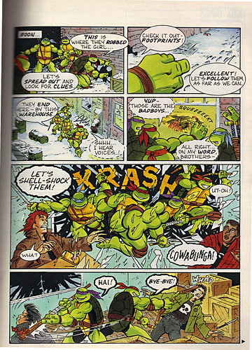 "Ladies Home Journal :: ""The TEENAGE MUTANT NINJA TURTLES in 'Twas the FIGHT before Christmas' // pg. 69 (( December 1990 ))"