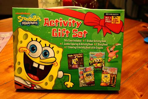 SpongebobActivitySet