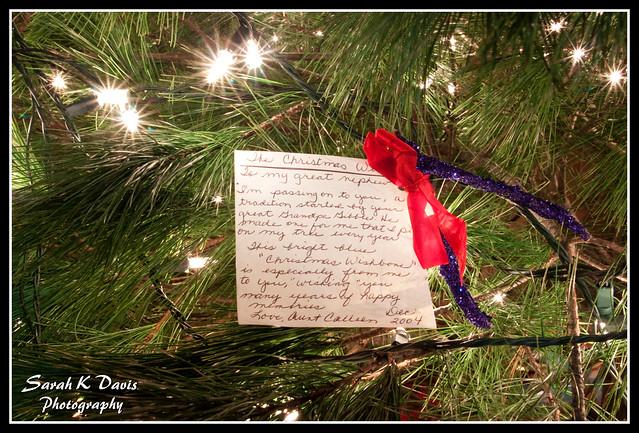 Christmas Wishbone