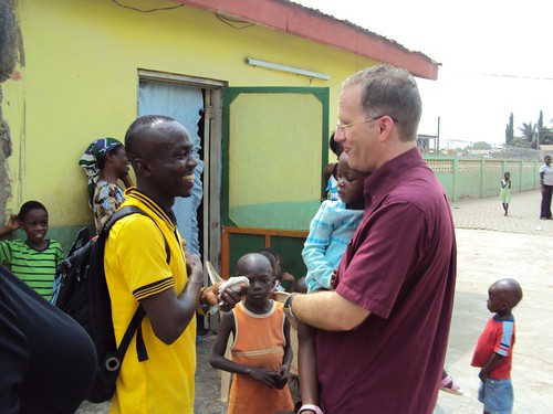 David Comes Back for Visit to Orphanage by keith.brinkman