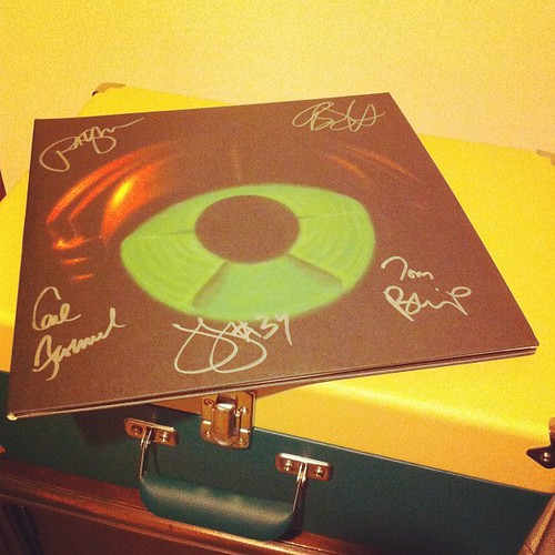 Awesome present :) #mymorningjacket #circuital #album #signed :)